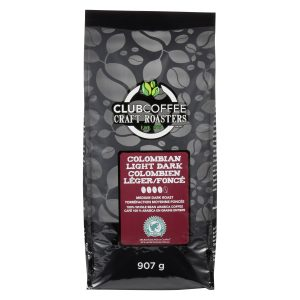 CRAFT ROASTERS COLOMBIAN LIGHT DARK WHOLE BEAN BAG
