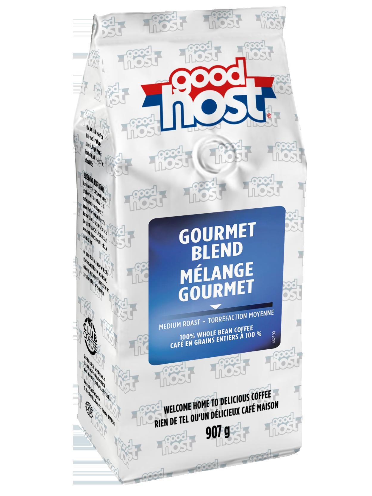 GoodHost Gourmet Blend Whole Bean Coffee 2Lb Bag